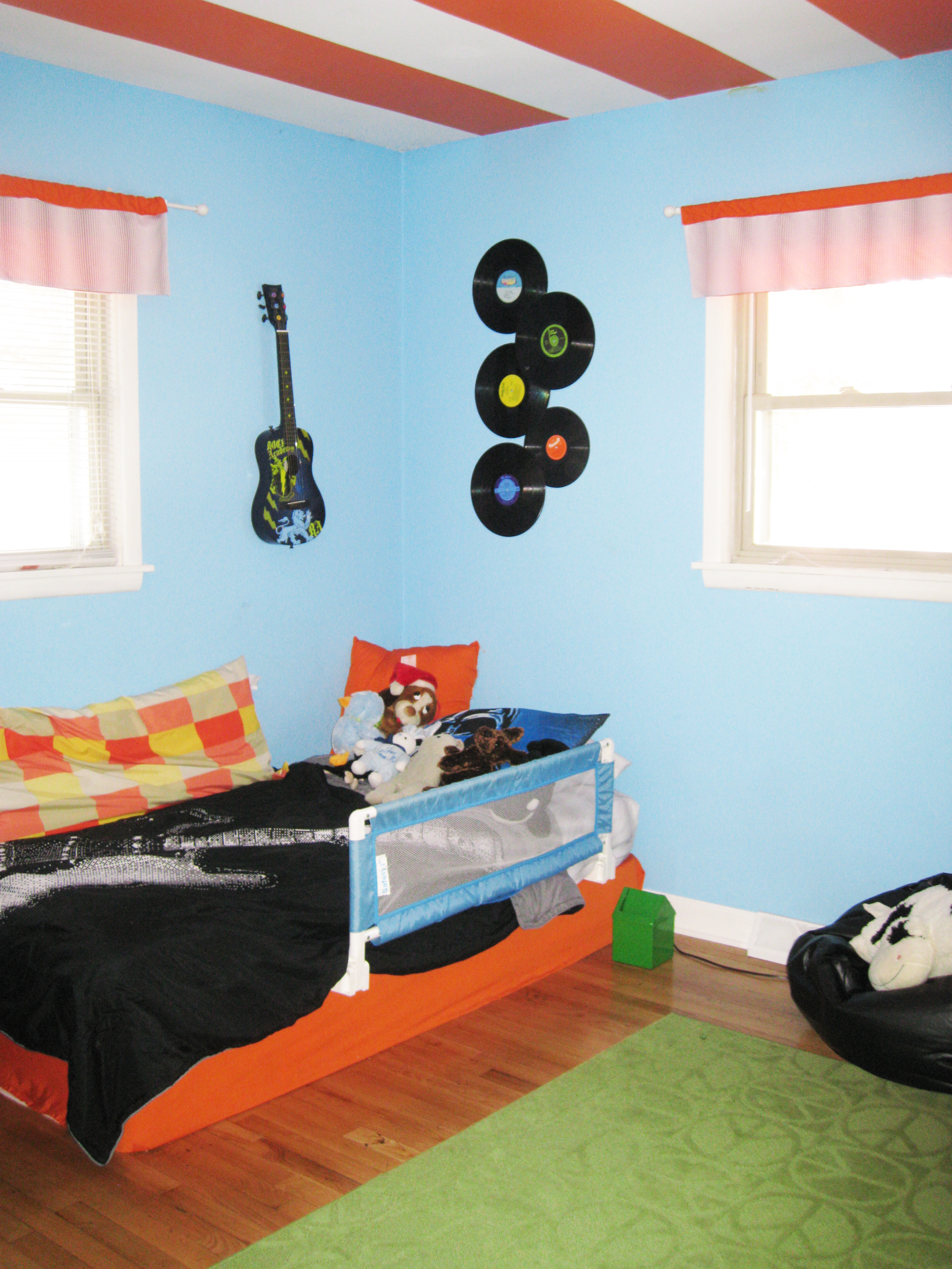 Rock N Roll Bedroom Painting Create With Cents
